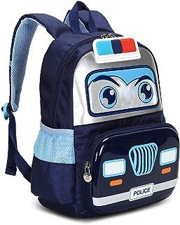 儿童幼儿背包,警察汽车书包,适用于学龄前、日托和幼儿园