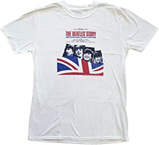 Rockoff Trade 男士 The Beatles Story T 恤