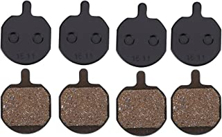 4 对自行车盘式刹车片山地自行车金属盘式刹车片便携式树脂盘式刹车片替换适用于海士鞋底 MX2/3/4/5 CX5 GX-C GX2