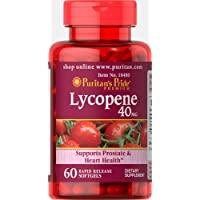 Puritan's Pride 普丽普莱 番茄红素速释软胶囊补充剂,40毫克,支持男性器官和心脏**,含有抗氧化特性…