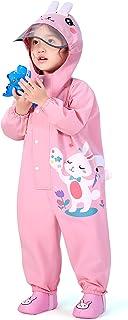 Meahyn 儿童连体印花水坑雨衣