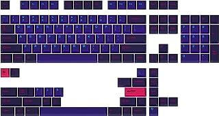 Drop + MiTo GMK 激光定制机械键盘键帽套装 - 129 键,双排 ABS,樱桃色轮廓,适用于 60%,TKL,1800 种布局等。
