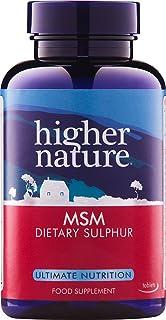 Higher Nature 1000mg MSM 硫磺 - 90 片装