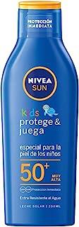 NIVEA 妮维雅 儿童*霜 FP50+(1 x 200 毫升) 防水儿童* 超高*