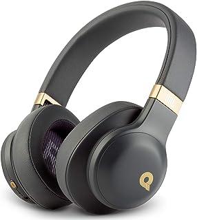 JBL E55BT Quincy Edition 无线头戴式耳机,带单键遥控和麦克风(太空灰)