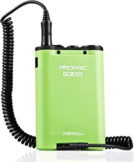 闪存电池组/电源包带带卷线适用于 Metz Flash - 绿色