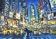 1000片 拼图 迪士尼 You, Me and the City 【彩绘艺术】 (51.2x73.7厘米)