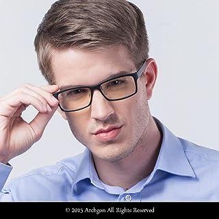 Archgon 时尚电脑眼镜防蓝光紫外线防护 A+ 水晶钢化镜片型号 Rio Samba GL-B107-GR