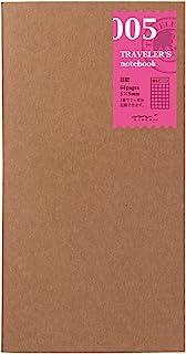 MIDORI TRAVELER'S Notebook 日记内芯 标准型 005