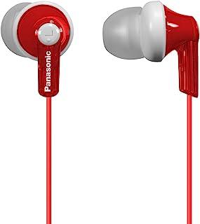 Panasonic 松下电器 ErgoFit入耳式耳机RP-HJE120-R 动态清晰的声音,符合人体工学的舒适贴合感 红色
