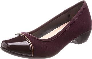 ALL DAY Walk 女式浅口鞋 经防水加工 *防臭 *鞋垫 方头设计 3 厘米鞋跟 2E 鞋宽 ALD 0680