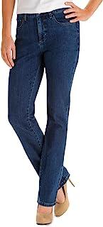 LEE Monroe 女士经典即时修身版直筒牛仔裤
