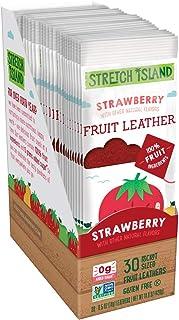 Stretch Island 原始水果干,草莓,0.5盎司/14克,30支