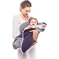 wallaboo 婴儿毛毯 Fleur 超柔100% 棉新生儿适用于婴儿车婴儿睡篮或婴儿床和旅行花朵形状85 cm bl…