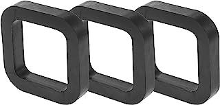 X AUTOHAUX 3 件方形2英寸(约5.1厘米)车载挂接接收器垫垫垫在接收器和可调节球座拖车挂接装置减少摇铃消除噪音