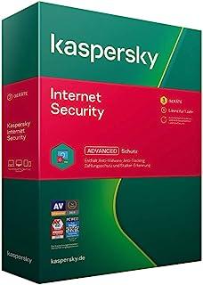 Kaspersky Internet Security 3 Geräte(Code in a Box)。Für Windows 7/8/10/MAC/Android