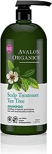 Avalon Organics 护理茶树洗发水,32盎司/946毫升