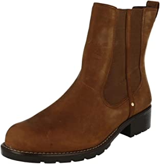 Clarks 女式 Orinoco Club 切爾西靴
