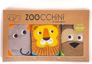 zoocchini 男孩款有机训练裤3件套 Rhino/Lion/Monkey 2T-3T