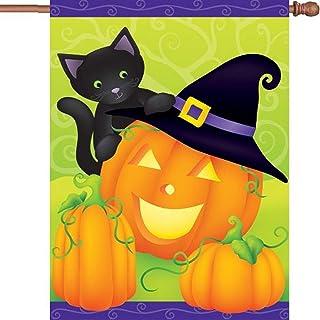 Premier 52588 House Brilliance 旗帜,Hello Halloween,28 x 40 英寸