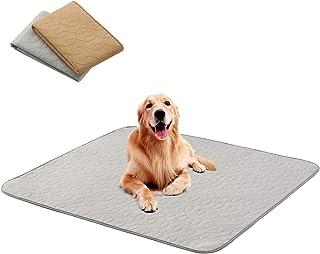 PPET 可洗狗狗尿垫(34 英寸 × 36 英寸,2 件装)优质狗狗尿垫,防水可重复使用小狗垫,适合打包、旅行、训练、如厕、围栏、易清洗