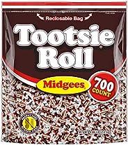 Tootsie Roll 巧克力扭蛋,可重新密封,小袋,无花生,无麸质,原始包装,77.76盎司,2.2千克