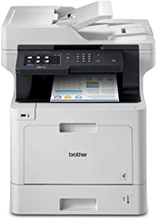 Brother Printer MFCL8900CDW Business Color Laser All-in-One with Advanced Duplex and Wireless Networking 需配变压器