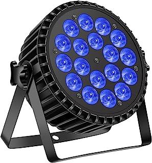 Par Light for Party 18 x 10 W LED RGBW 8 通道 DJ 灯 适用于派对 KTV Disco 圣诞节万圣节舞台照明