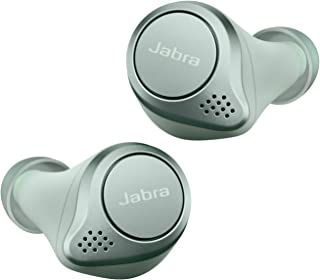 Jabra 捷波朗 Elite 75t 真无线蓝牙耳塞,带充电盒,*四代,28小时电池,语音助手启用。75t 运动 One