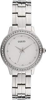 Guess Chelsea 女式模拟石英手表不锈钢表链 W1209L1