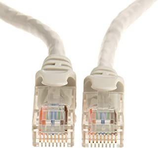 AmazonBasics Cat-5e Network Ethernet Cable AmazonBasics Cat-5e Network Ethernet Cable 白色 25 Feet/7.6 Meters