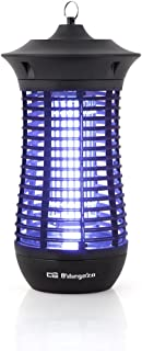 Orbegozo MQ 4018 电动驱蚊除虫剂,适用于室内和室外,操作范围为100平方米,18瓦功率和垂直设计