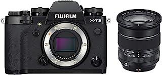 Fujifilm 富士胶片相机16643397 XF16-80mmF4 R OIS WR Kit 黑色