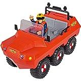 Simba 109251051 消防员 Sam Hydrus 两栖车,带人偶,可漂浮,20cm,适用于3岁以上儿童