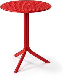Nardi Step 61x61 厘米树脂纤维玻璃桌 - 红色