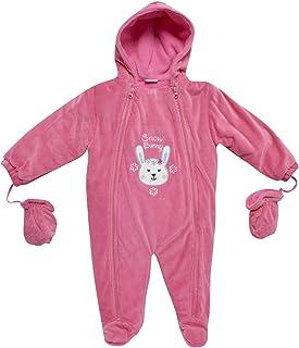 Sweet & Soft 超婴儿 女孩 & 男孩 保暖 防雪衣 连指手套 帽子
