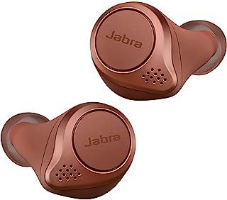 Jabra 完全无线 耳机 Elite Active 75tAlexa适用 bluetooth 5.0 防尘防滴 IP57 北欧设计 国内正品100-99091003-40-A  L 21.9 x W 19.4 x H 16.2mm