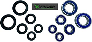 XFinder 车轮轴承套装,前后适用于 Yamaha Banshee 350 包括 XFinder 贴纸