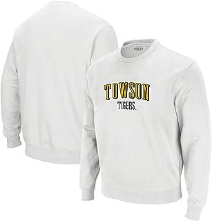 Venley 官方 NCAA 大学拱形图案男式/女式男友运动衫