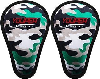 Youper Boys 青少年柔软泡沫保护运动杯(适合 7-12 岁),棒球、橄榄球、曲棍球、曲棍球、曲棍球、MMA 儿童运动杯