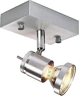 SLV LED 射灯 ASTO 可旋转和旋转 | 智能壁灯和顶灯用于个人室内照明|天花板灯|天花板灯、天花板灯、天花板灯、天花板灯、壁灯 | GU10,EEK 至 A++