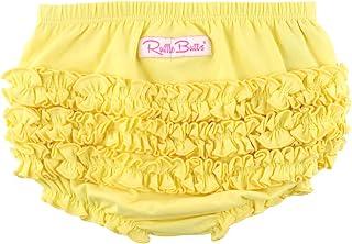 RuffleButts 婴儿/幼儿女孩针织褶边灯笼裤
