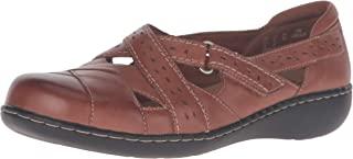 Clarks 女式 Ashland Spin Q 一脚蹬乐福鞋