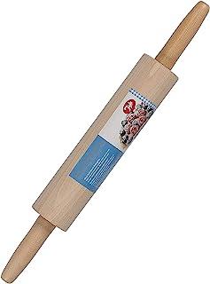 Tala FSC 认证的山毛榉 23 厘米旋转擀面杖,适用于面包滚动面团,多色, 44 厘米