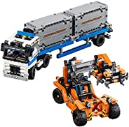 LEGO Technic Container Yard 42062 建筑套件(631 件)