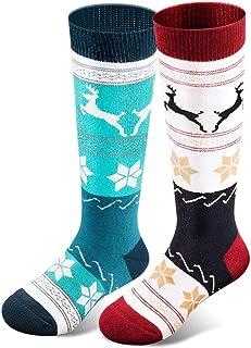 男童女童滑雪袜,厚实保暖,适合冬季滑雪滑雪滑雪滑雪滑雪板