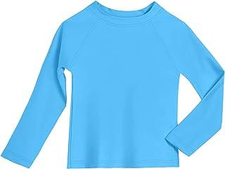 City Threads 婴儿*衣采用再生材料制成,长袖和 SPF50+ 美国制造