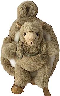 毛绒动物背包和毛绒玩具(羊驼)
