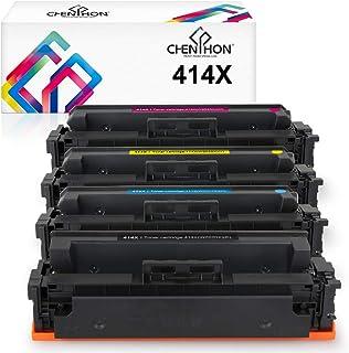 CHENPHON 兼容 HP 414X 414AToner 墨盒 W2020X W2021X W2022X W2023X 高产量适用于 HP Laserjet Pro M454dw M454dn MFP-M479fdw M479fdn M479...