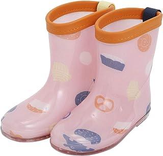 Ogawa 小川 儿童雨靴 儿童 KIDS 男孩 女孩 男女通用 M 17厘米 Kukka Hippo 零食 长靴 长靴 带反光材料 放心 * 左右不同颜色 带标签 83266